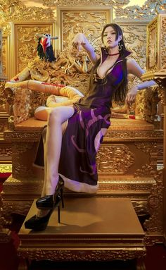 Boa Hancock Hot Cosplay by Thai Model Latex Cosplay, Cosplay Anime, Best Cosplay, Cosplay Girls, Cosplay Costumes, Amazing Cosplay, One Piece New World, Anime Toon