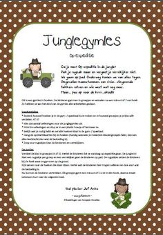 Ga je mee op expeditie? De jungle in! Gymles in hoeken - jufanke.nl Jungle Gym, Jungle Party, Jungle Safari, Jungle Animals, Jungle Theme Classroom, Classroom Themes, Early Years Teaching, Pe Ideas, Yoga For Kids