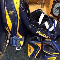 More custom setups? We're all over it. Here's a Blue/Yellow Reebok a Premier XLT setup.