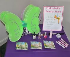 Tinkerbell party ideas, so cute!