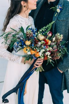 Field Floral Studio Winter Bride