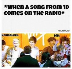 this happened in my car on sunday with my siblings. kiss you came on the radio and i started screaming at the top of my lungs. my mom came running outside and she was yelling at me cuz the whole neighborhood could hear me. like calm down its my jam