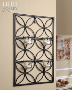 Tealight Wall Sconce