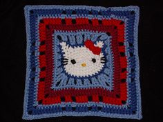 "This ""Hello Kitty Square"" by kuzco is so cute!...Inspiration"