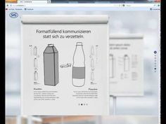 Demonstration of a microsite for a new productlaunch (Combibloc)