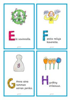 Julisteet - Värinautit Finnish Language, Pre School, Comics, Kids, Finland, Young Children, Boys, Children