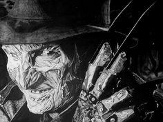 21 Mejores Imágenes De Horror Movies Artwork Graffiti Graphite