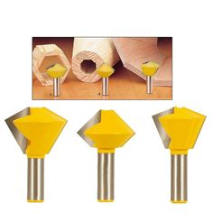 Bird's Mouth Router Bit makes joining up multi-sided woodwork projects easy peasy! Using these bits, you will only need to cut one end as opposed to two (such a