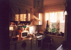 morning kitchen (by Misha Denisov) Interior Exterior, Interior Design, Casa Real, Dream Apartment, House Rooms, Home Improvement Projects, Decoration, Living Spaces, Sweet Home