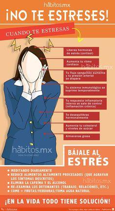 NO TE ESTRESES, ya que el stres es la angustia y preocupación excesiva , por alguna situación que no lo merece.