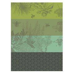 Torchons - Nouveautés - Le Jacquard Français Tea Towels, Harvest, Lavender, Thing 1, Tapestry, France, Fabricant, Seasons, Dry Cleaning