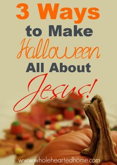 Here are 3 ways you can turn Halloween from darkness to light!