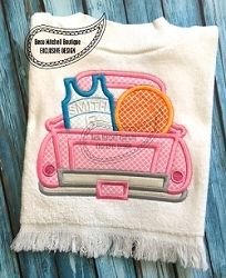 Basketball Jersey Truck Applique - 3 Sizes! | What's New | Machine Embroidery Designs | SWAKembroidery.com Beau Mitchell Boutique