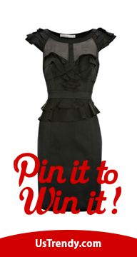 REPIN IT TO WIN IT! Repin your favorite UsTrendy dress from our Repin it to Win it board and you could win the dress for FREE! Most Repins WINS! Winners announced 7/2/12. Happy Pinning!