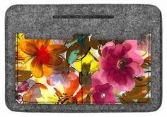 """Tasche Organizer Handtaschen-Organizer Taschenorganizer Filz Motiv """"Garden"""""""