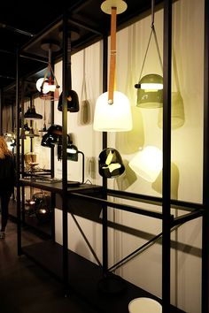 IMM Cologne - foto from Architonic - Brokis - Light - Mona design by Lucie Koldova. - Interior.