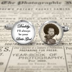 Wedding Photo Cuff Links  Accessories  by MaDGreenCreations