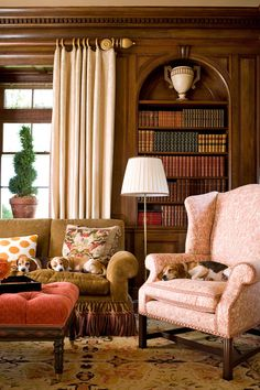 Stylish Ideas for Arranging and Organizing Bookcases - Traditional Home®