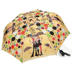 Working Girls Automatic Open and Close Collapsible Umbrella