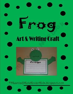 Frog Art & Writing Activity