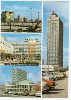 """DDR Museum - Museum: Objektdatenbank - Postkarte """"Berlin - Hauptstadt der DDR""""    Copyright: DDR Museum, Berlin. Eine kommerzielle Nutzung des Bildes ist nicht erlaubt, but feel free to repin it!"""