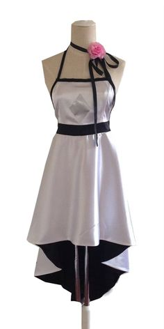 CosEnter Anime Vocaloid Luka White Dress Cosplay Costume ** Visit the image link more details.