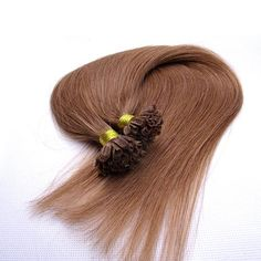 100s Straight Nail/U Tip Human Hair Extensions #30 Auburn - Beauty