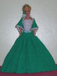 Barbie Crochet Pattern for full Ball Gown...so pretty !
