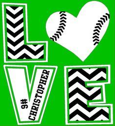 Chevron LOVE TShirt Baseball mom football by WalnutStreetHouse2