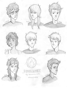 Divergent inspired fan art, Eric and Caleb look different. Caleb has blonde hair I thought. But perfect Eric Divergent, Divergent Fan Art, Divergent Fandom, Divergent Trilogy, Divergent Insurgent Allegiant, Divergent Characters, Tobias, Percy Hynes White, Divergent Drawings