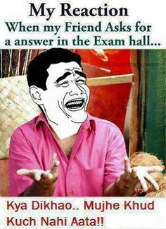 Best funny jokes in hindi exam ideas Funny Jokes In Hindi, Best Funny Jokes, Funny Facts, Funny Memes, Funny Christmas Poems, Christmas Humor, Funny Animals With Captions, Desi Humor, Funny Quotes For Teens