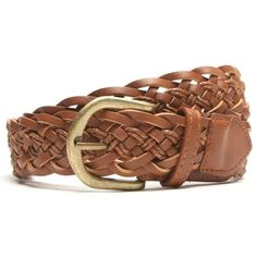 With Love From CA Macrame Braided Jean Belt ($15) ❤ liked on Polyvore featuring accessories, belts, brown, gold woven belt, macrame belt, brown woven belt, brown braided belt and crochet belt