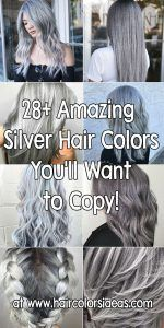 silver hair color ideas images www.haircolorsideas.com