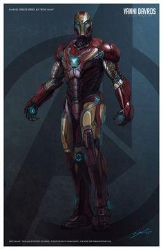 Iron Man Redesign 2013 by ProlificPen on @DeviantArt