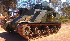 """M3A5 Lee that saw service """"C"""" Squadron, 3rd Carabiniers regiment during the Battle of Imphal, Burma 1944."""