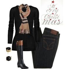 A fashion look from December 2012 featuring Rick Owens tops, D&G jeans and Diane Von Furstenberg boots. Browse and shop related looks.