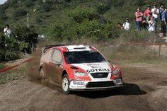 LUIS PÉREZ COMPANC EN EL FORD FOCUS WRC