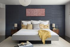 10 Things to Do With the Empty Space Over Your Bed - https://freshome.com/bedroom-wall-decorating/