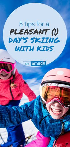 Get your tips here how to enjoy a day of skiing to the maximum with your kids. Winter Holiday Destinations, Ski Packages, Family Ski, Top Ski, Kids Skis, Best Skis, Ski Holidays, Little Ones, Skiing
