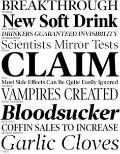 best newspaper fonts - Sök på Google