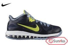 79a24e5c4dd8 Nike LeBron 9 Low Obsidian Cyber (510811-401)