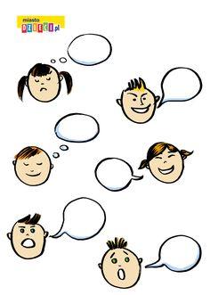 Nazwij emocje – karta pracy do rozmowy z dziećmi o emocjach