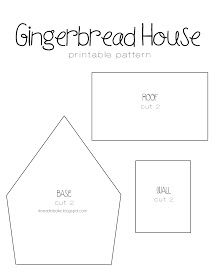 Gingerbread Recipe Printable House Template you can find a simple template to cut with a knife and a ruler here Here are the templates I made Theres two Gingerbread House Template Printable, Gingerbread House Patterns, Gingerbread House Parties, Christmas Gingerbread House, Christmas Treats, Gingerbread Houses, Christmas Houses, Cardboard Gingerbread House, Cardboard Houses