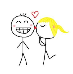 Stick Figure Couples Tumblr Stick figures in love