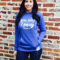 YPIP Script Hoodie (color options) – You Play I Pray Volleyball Mom Shirts, Sports Mom Shirts, Baseball Mom, Football, Colorful Hoodies, Fleece Hoodie, Mom Jeans, Graphic Sweatshirt, Script