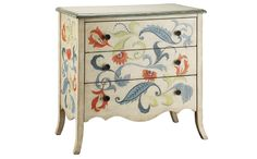 Pretty little hand-painted chest of drawers.