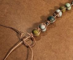 Castaway Beaded Macrame Bracelet (Customer Design) - Lima Beads; DIY Tutorial