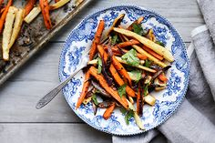 These Spiced Roasted Root Vegetables will compliment any holiday or weeknight meal.
