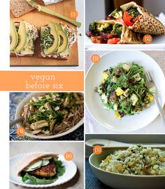 Easy vegan brown bag lunches