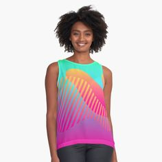 Chiffon Tops, Nice Dresses, Mothers, Blue Green, Athletic Tank Tops, Casual Outfits, Aesthetics, Girly, Parenting